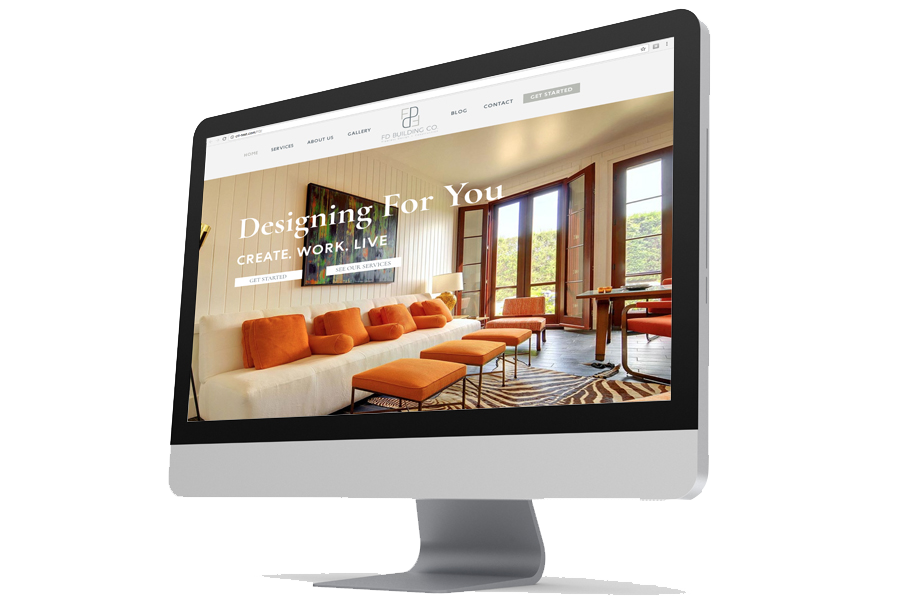 Responsive Website with Service Offerings