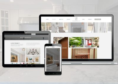 Real Estate Construction Custom Website