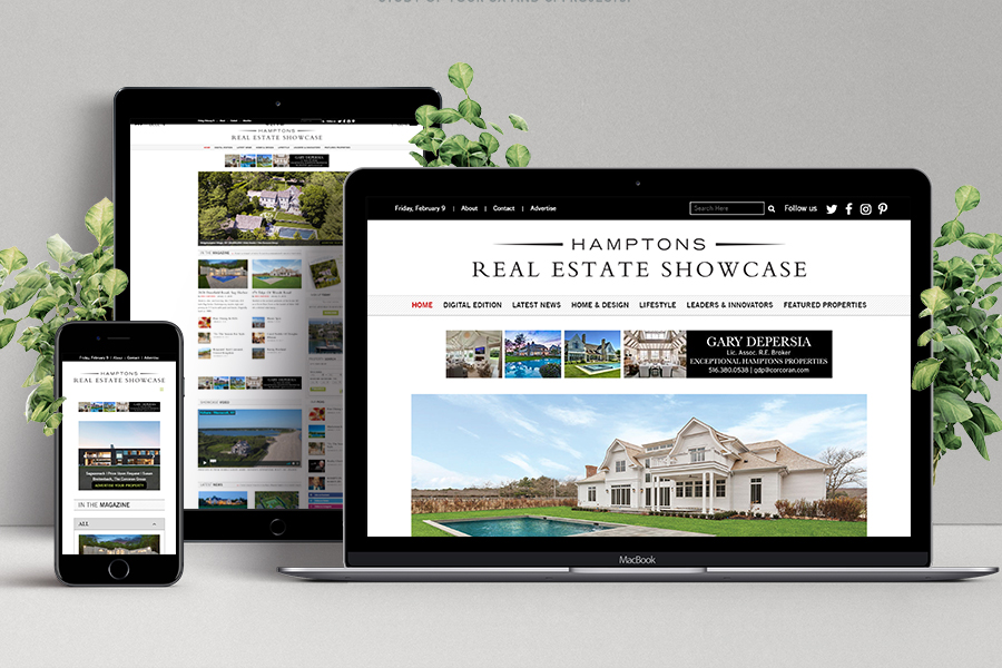 Custom Responsive Magazine Website