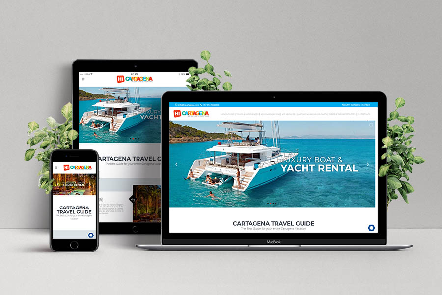 Custom Travel Agency & Tour Booking Website & SEO Campaign
