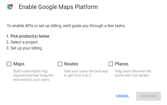 Help When Google Maps Won't Load - Chainlink Relationship Marketing