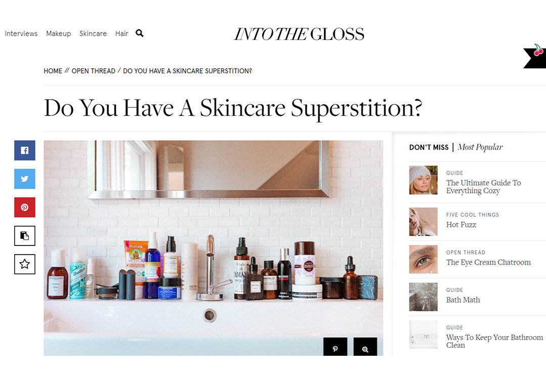 Ecommerce Website Content - Glossier Example - Chainlink Relationship Marketing