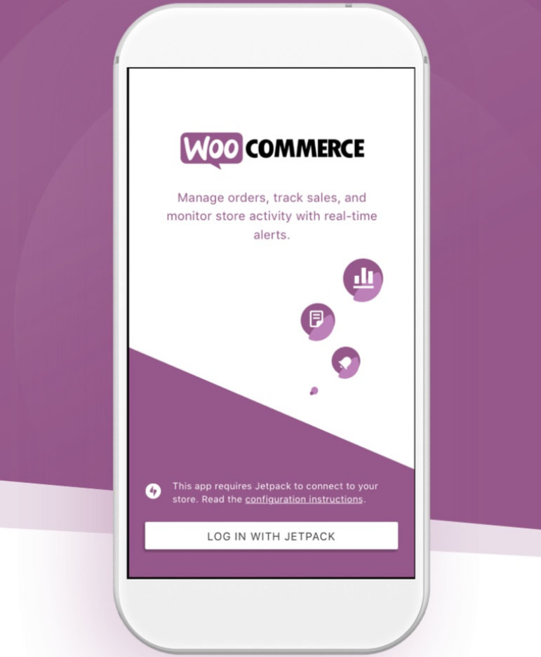 WooCommerce Mobile App Image - Chainlink Relationship Marketing