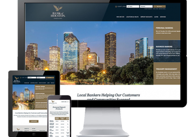 Private Bank Custom Website