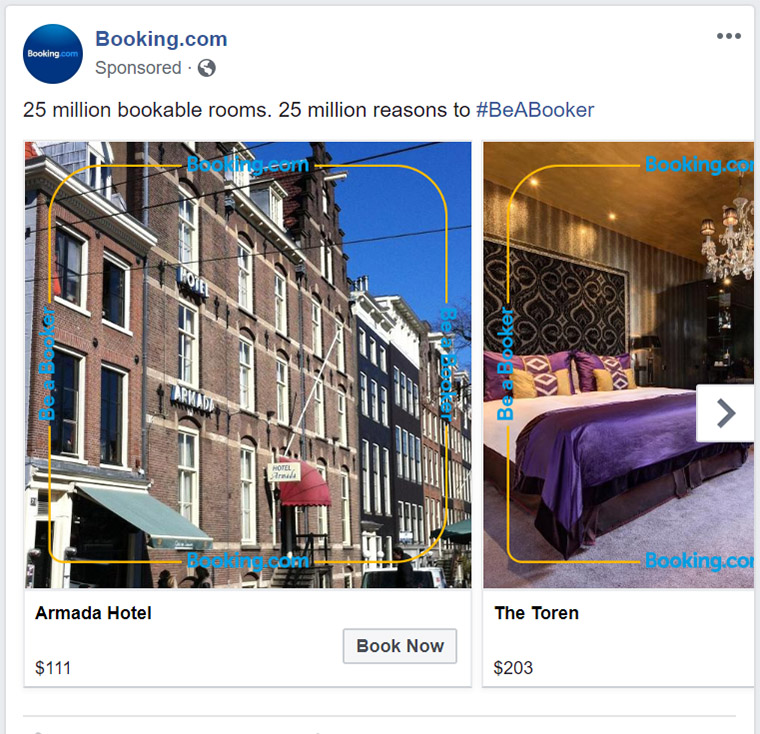 Facebook Ad Booking - Chainlink Relationship Marketing
