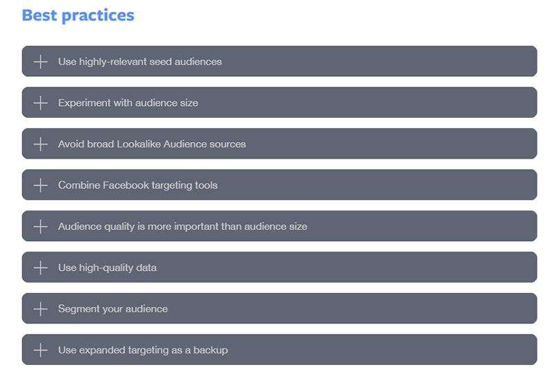 Facebook Ads Lookalike Audiences Best Practices - Chainlink Relationship Marketing