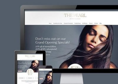 Beauty & Dermatologist Custom Website