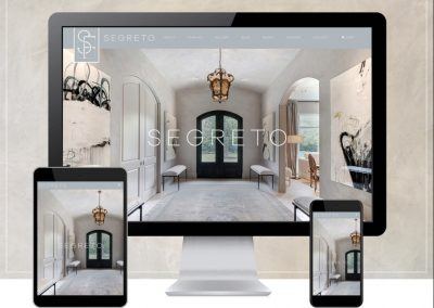 Interior Designer Custom Ecommerce Website