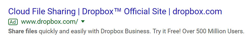 Dropbox - Chainlink Relationship Marketing