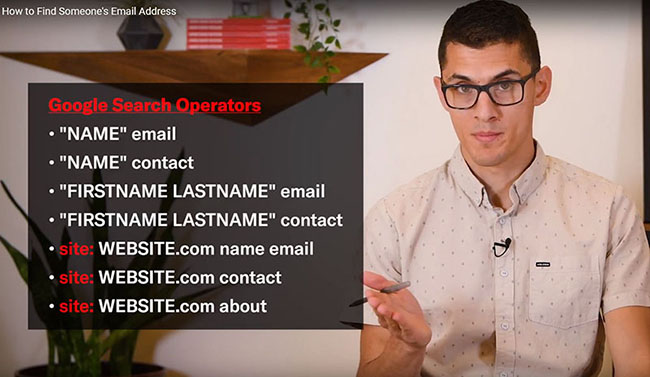 Vince Nero Find Any Email Video Chainlink Relationship Marketing