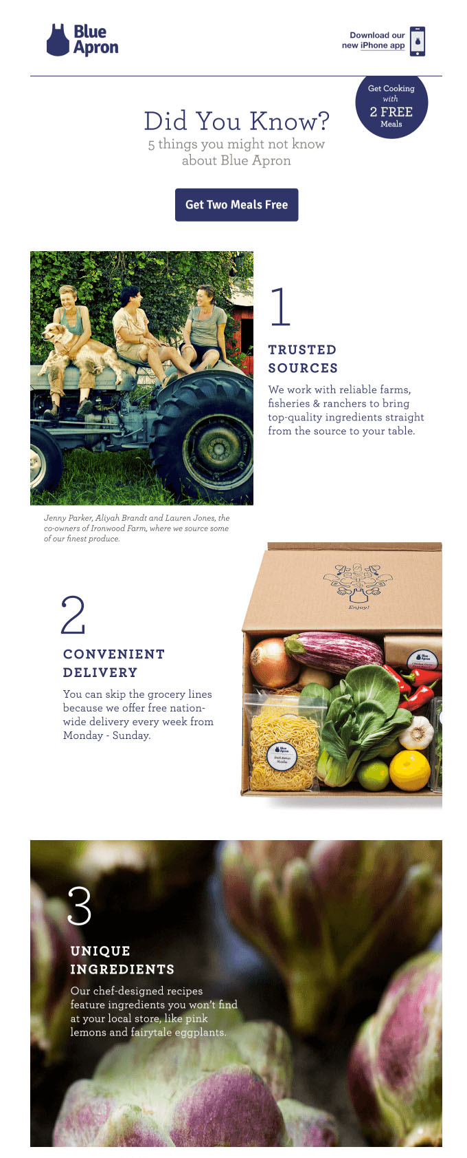 Onboarding Emails - Activation Email - Blue Apron