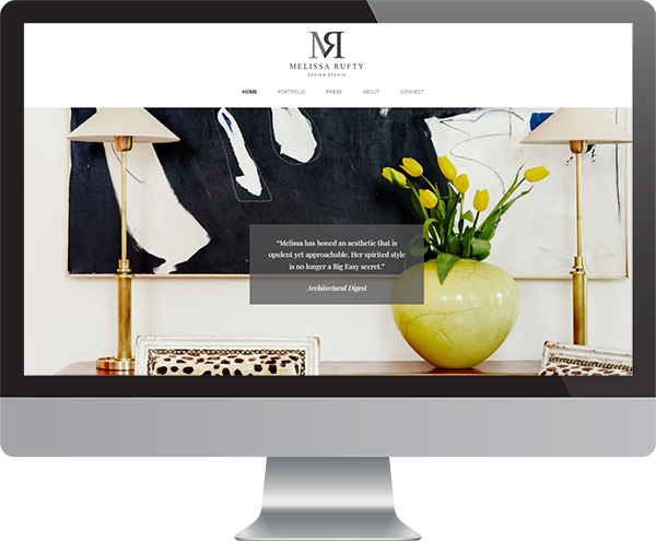 Interior Design Website Development