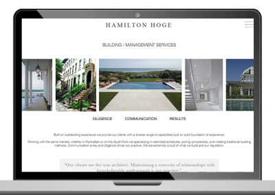 Real Estate Developer Custom Website Development