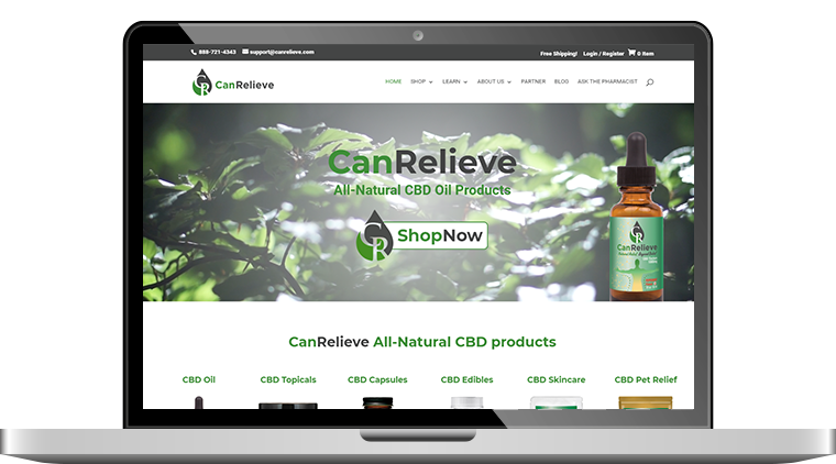 CBD Ecommerce Design & Development