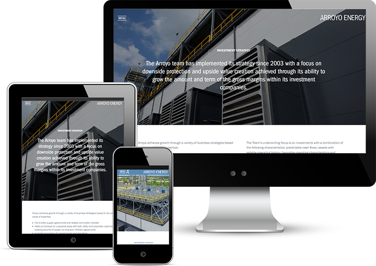 Fully Responsive Investment Management Website