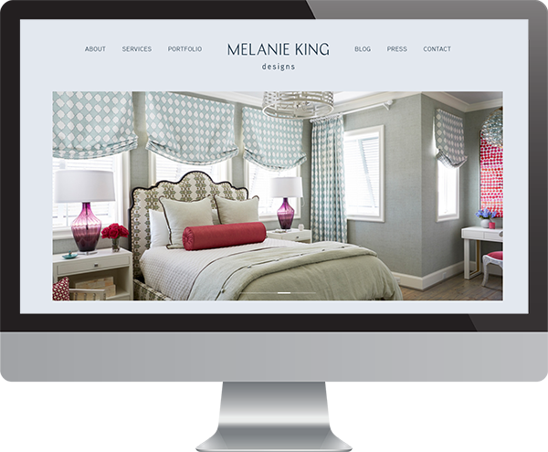 Interior Designer Website Development