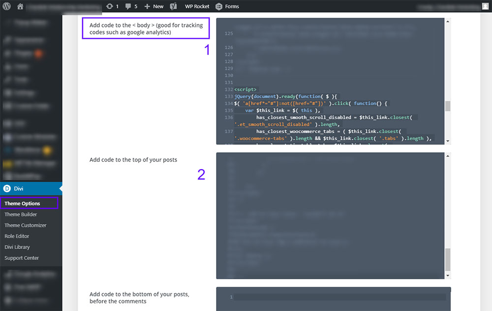 Where to add the JQuery Code - Divi Smooth Scroll Speed Fix with LazyLoad